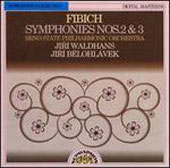 Fibich: Symphony no 2 & 3 / Jiri Waldhans, Jiri Belohlavek