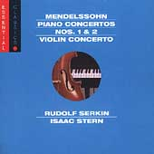 Mendelssohn: Piano Concertos no 1 & 2, etc / Serkin, et al
