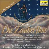 Mozart: Die Zauberflöte highlights / Sir Charles Mackerras