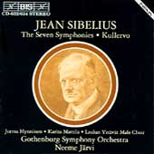 Sibelius: The Seven Symphonies, etc / Järvi, Gothenburg SO