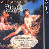Mercadante: Flute Concertos / Marzio Conti, V. Antonellini