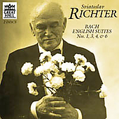 Great Hall - Bach: English Suites 1, 3, 4 & 6 / Richter