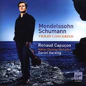 Mendelssohn, Schumann: Violin Concertos / Capu&#231;on, Harding