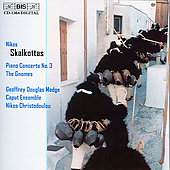 Skalkottas: Piano Concerto no 3, etc / Madge, Christodoulou