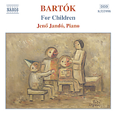 Bart&oacute;k: Piano Music Vol 4 - For Children / Jen&ouml; Jand&oacute;