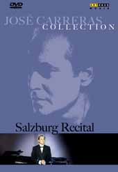 Jose Carreras Collection: Salzburg Recital / Martin Katz, piano / Live August 15, 1989 [DVD]