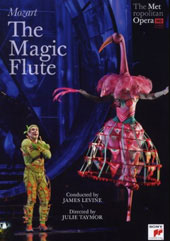 Mozart: The Magic Flute / Levine/Met, Polenzani, Huang, Gunn [DVD]