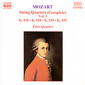 Mozart: String Quartets Vol. 3