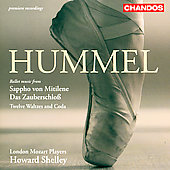 Hummel: Sappho von Mitilene, etc / Shelley, et al