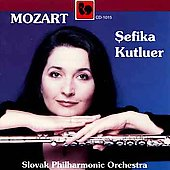Mozart: Flute Concertos / Kutluer, Rezucha, Turnerova, et al