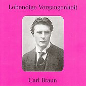 Lebendige Vergangenheit - Carl Braun