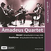 Mozart: Quartet in A major, K 464;  Beethoven