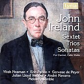 Ireland: Sextet, Trios, Sonatas / Navarra, Parkin, et al