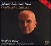 Bach: Goldberg Variations / Winfried Bönig