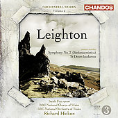 Leighton: Orchestral Works Vol 2 / Hickox, Fox, BBC National Orchesta of Wales, et al