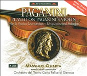 Paganini Played on Paganini's Violin