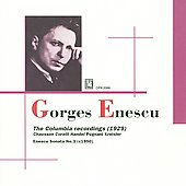 George Enescu: The Columbia Recordings (1929)