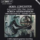 Horn Concertos / Hermansson, Tjivzjel, Ume&#229; Sinfonietta