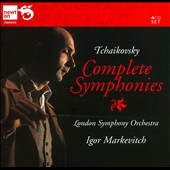 Tchaikovsky: Complete Symphonies / Markevitch