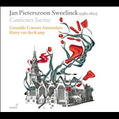 Jan Pieterszoon Sweelinck: Cantiones Sacrae