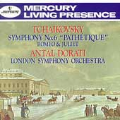 Tchaikovsky: Symphony no 6, etc / Dorati, London SO