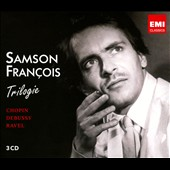 Piano works by Chopin, Debussy, Ravel / Samson Francois, piano (3 CD)