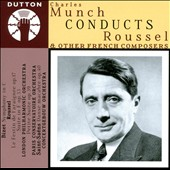 Roussel: Le festin de l'araignee; Suite in F, Op. 33; Bizet: Symphony in C