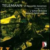 Telemann: New Hamburg Sonatinas VI, 1730-1731 / Enrico Di Felice, flute