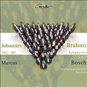 Johannes Brahms: Symphonies nos 2 & 3 / Sinfonieorchester Aachen, Marcus Bosch