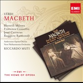 Verdi: Macbeth / Sherrill Milnes, Fiorenza Cossotto, Jos&eacute; Carreras, Ruggero Raimondi. Muti
