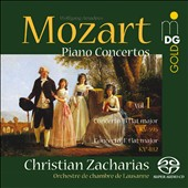 Mozart: Piano Concertos, Vol. 1 - Concertos for Piano K.482 & K.595 / Christian Zacharias, piano