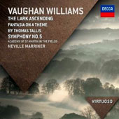 Vaughan Williams: The Lark Ascending; 'Tallis' Fantasia; Symphony No. 5 / Marriner, ASMF