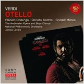 Verdi: Otello / Placido Domingo, Renata Scotto, Sherrill Milnes. National PO, Levine (rec. 1978)