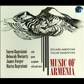 Music of Armenia - Mirzoyan: Cello Sonata; Sharafyan: On Wings of Hymns / Suren Bagratuni, cello; Deborah Moriaty, piano