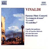 Vivaldi: Famous Flute Concerti / Krcek, Kraemer