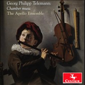 Georg Philipp Telemann: Chamber music / The Apollo Ensemble