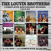 The Louvin Brothers: Complete Recorded Works: 1952-1962 [Box] *