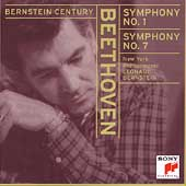 Bernstein Century - Beethoven: Symphony no 1 and 7