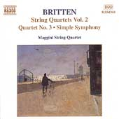 Britten: String Quartets Vol 2 / Maggini String Quartet