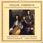 Vivaldi, Geminiani: Sonatas for Violoncello & Basso Continuo