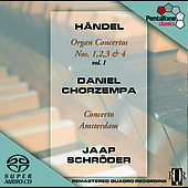 Handel: Organ Concertos Vol 1 / Chorzempa, Schr&#246;der, et al