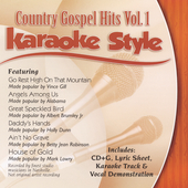 Karaoke: Karaoke Style: Country Gospel Hits, Vol. 1