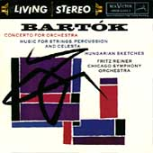 Bartók: Concerto for Orchestra, etc / Reiner, Chicago SO