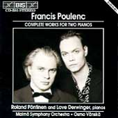 Poulenc: Complete Works For Two Pianos / Pöntinen, Derwinger