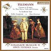 Telemann: Concerto in D, La Bouffonne, etc / Standage