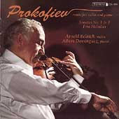 Prokofiev: Music for Violin and Piano / Arnold Belnick, Albert Dominguez