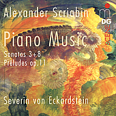 SCENE  Scriabin: Piano Music / Severin von Eckardstein