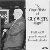 The Organ Works of Guy Weitz / Paul Derrett