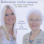 Bohemian Violin Sonatas / Demeterov&#225;, Luksait&#233;-Mr&#225;zkov