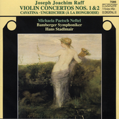 Raff: Violin Concertos no 1 & 2 / Neftel, Stadlmair, et al